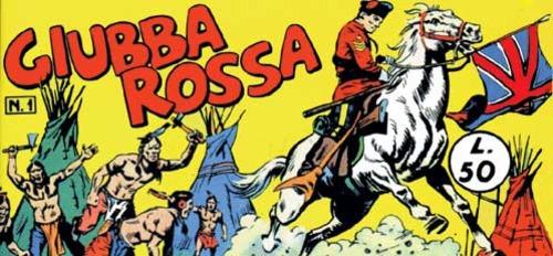 Fumetti Italiani Vintage: Giubba Rossa aka Dick Daring
