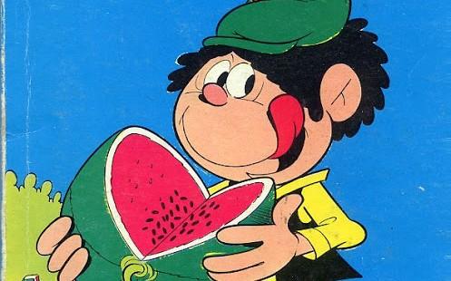 Fumetto italiano vintage: Saruzzo