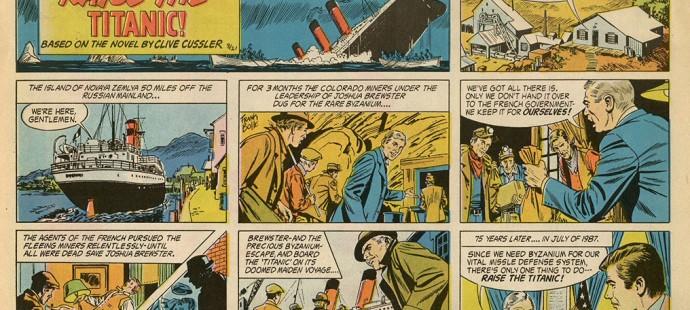 I Fumetti di Clive Cussler
