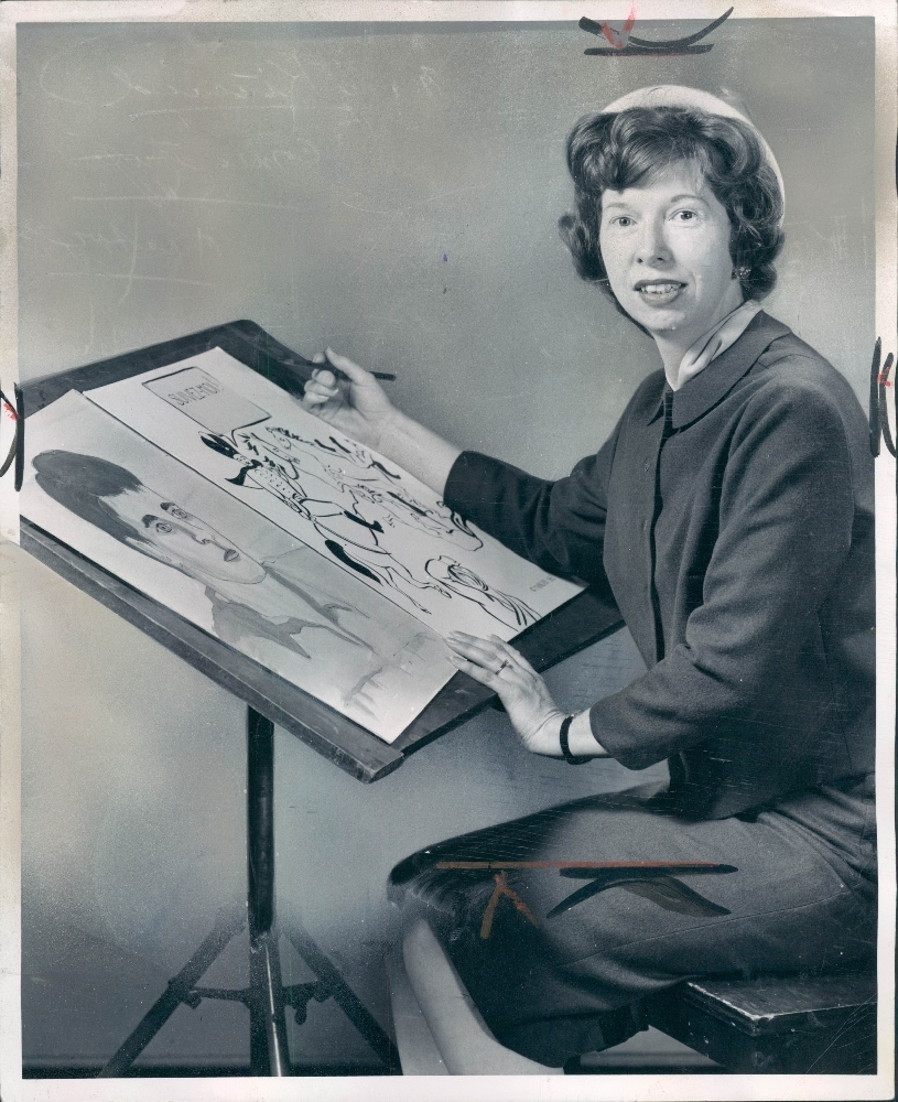 Mary Kincaid housewife cartoonist in Michigan