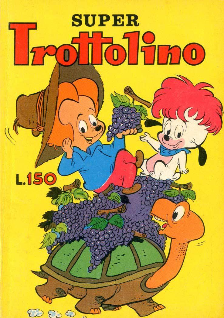Fumetti vintage Trottolino vs Trottolino
