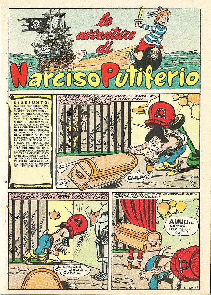 Fumetto italiano vintage: Narciso Putiferio
