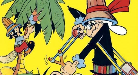 Fumetto italiano vintage Volpetto