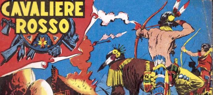 Fumetti italiani Vintage: il Cavaliere Rosso