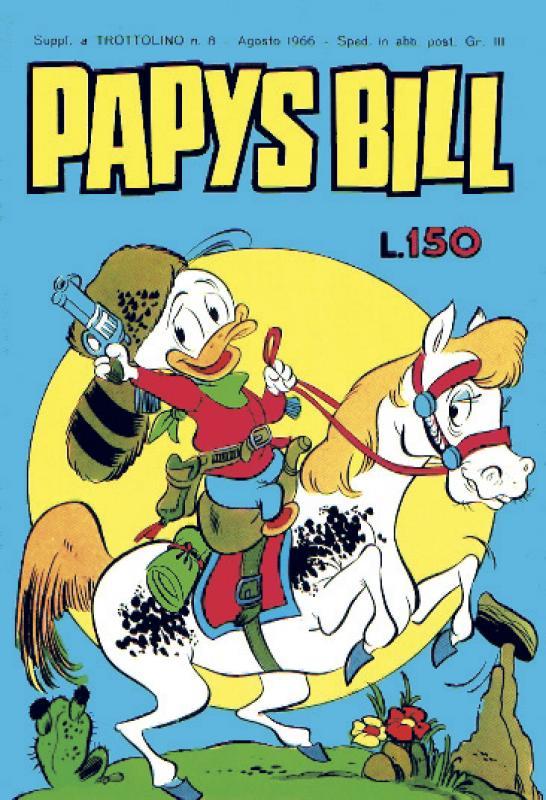 Fumetto italiano vintage: Papys Bill