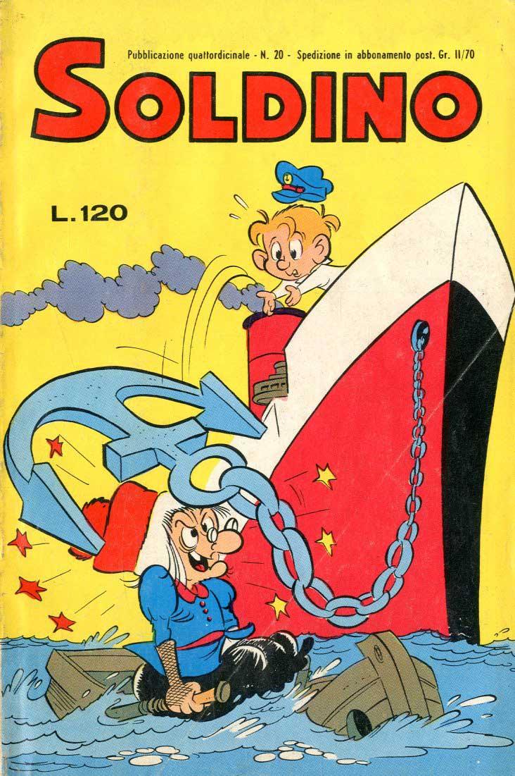 Fumetti Italiani Vintage: Soldino