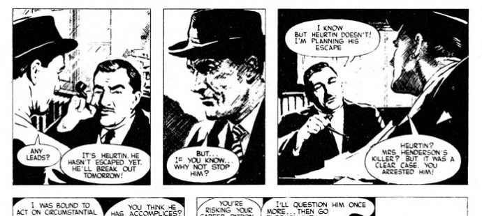Maigret in Comics Daily Herald