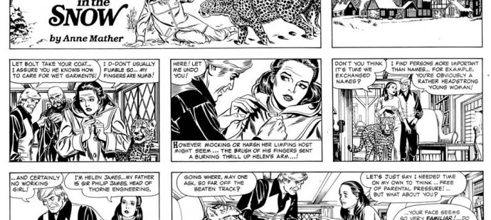 A beautiful page by Leonard Starr