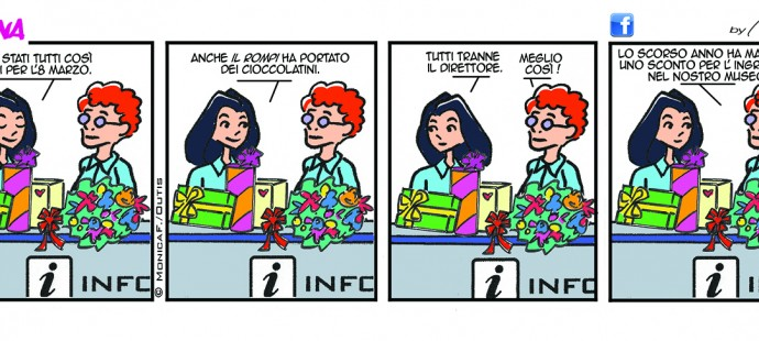 Xtina Comic Strip 8 Marzo