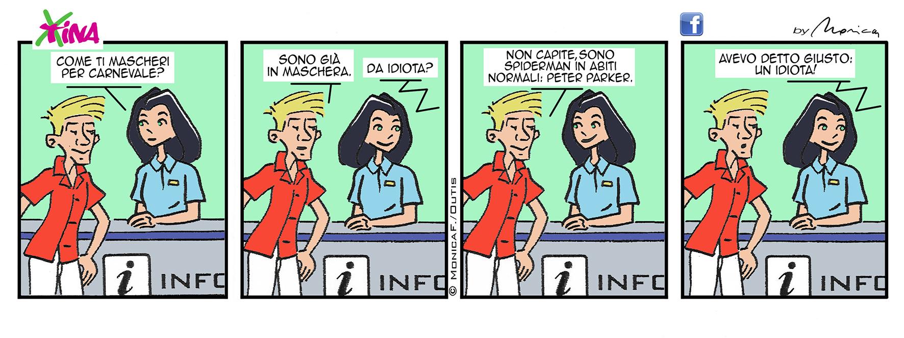 Xtina Comic Strip Carnevale