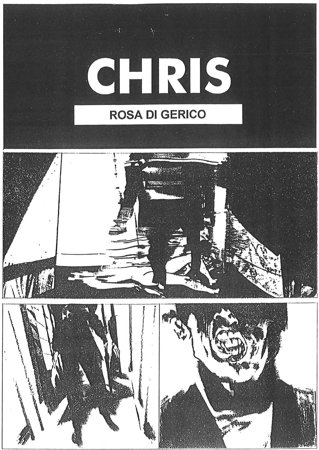 Chris Carella Graphic Novel #01