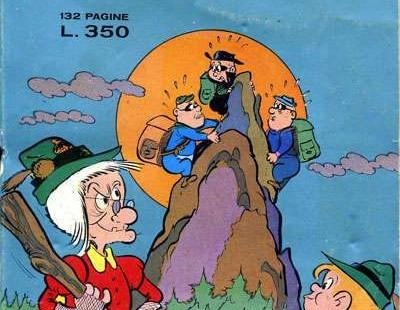 Fumetto italiano vintage: Nonna Abelarda