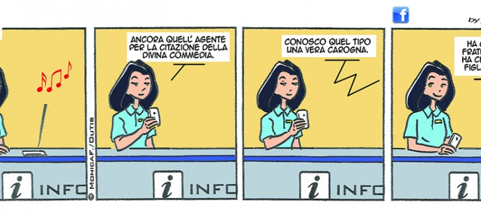 Xtina Comic Strip Divina Commedia