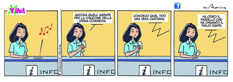 Xtina Comic Strip Divina Commedia