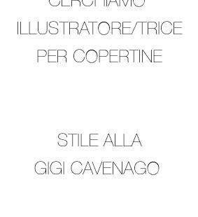 Cerchiamo Illustratore/trice per Copertine