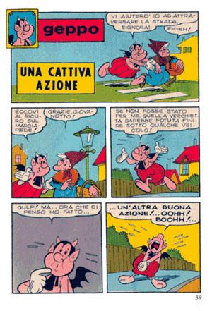 Fumetti italiani vintage: Geppo