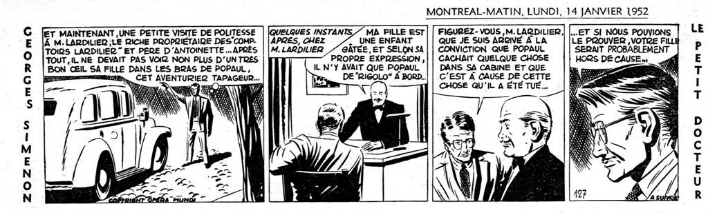 Georges Simenon Bande Dessinée
