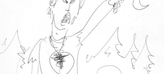 Guido Nolitta disegna Zagor