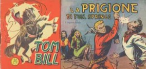 fumetto italiano vintage_tom bill