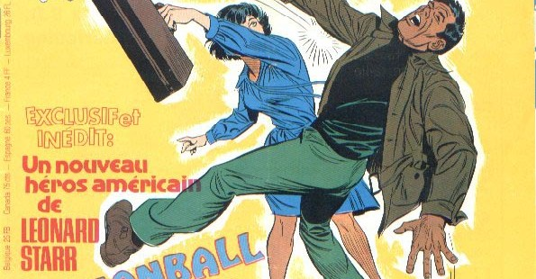 the forgotten Leonard Starr: Cannonball Carmody