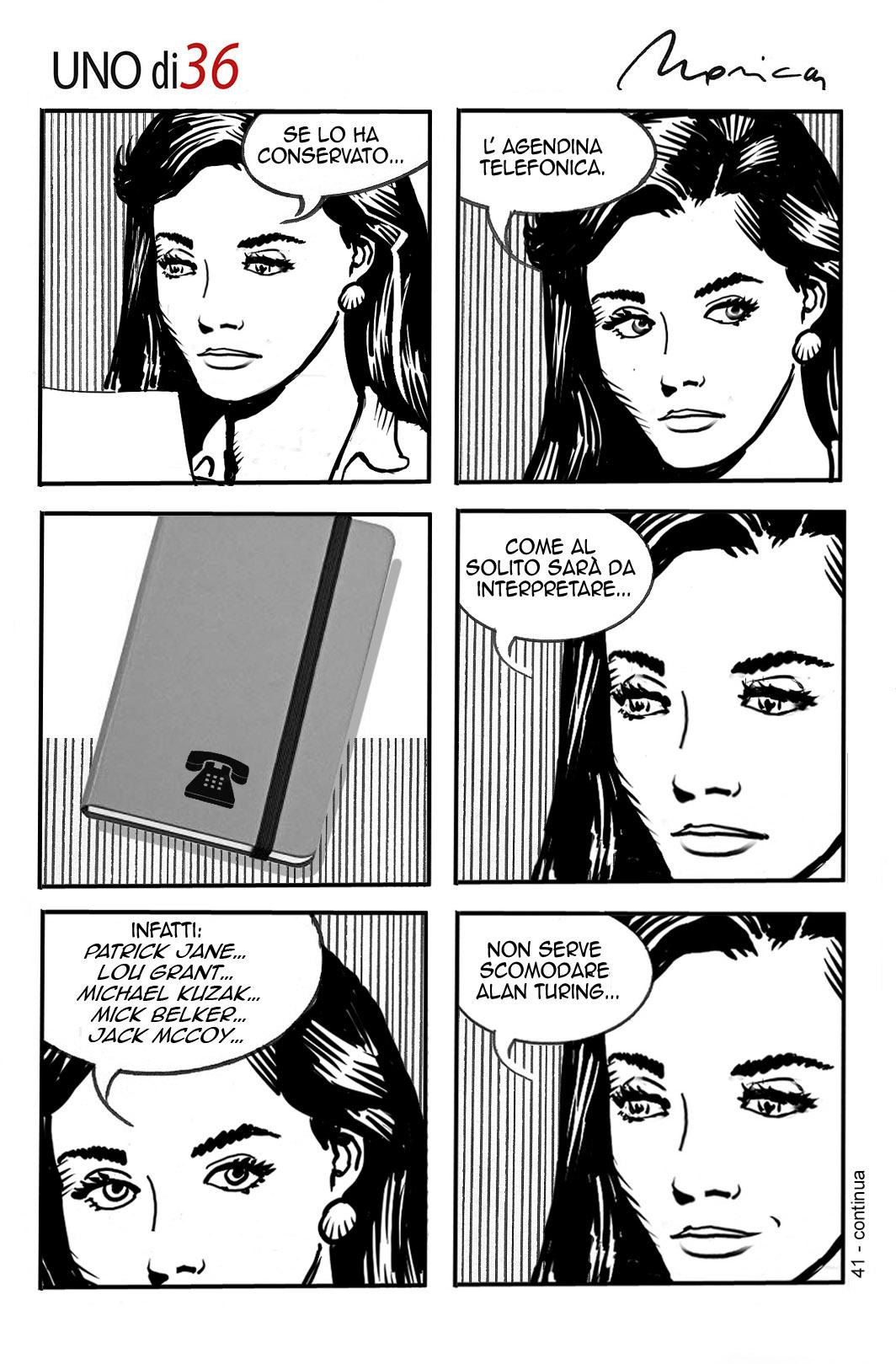Uno di 36 #41 Graphic Novel
