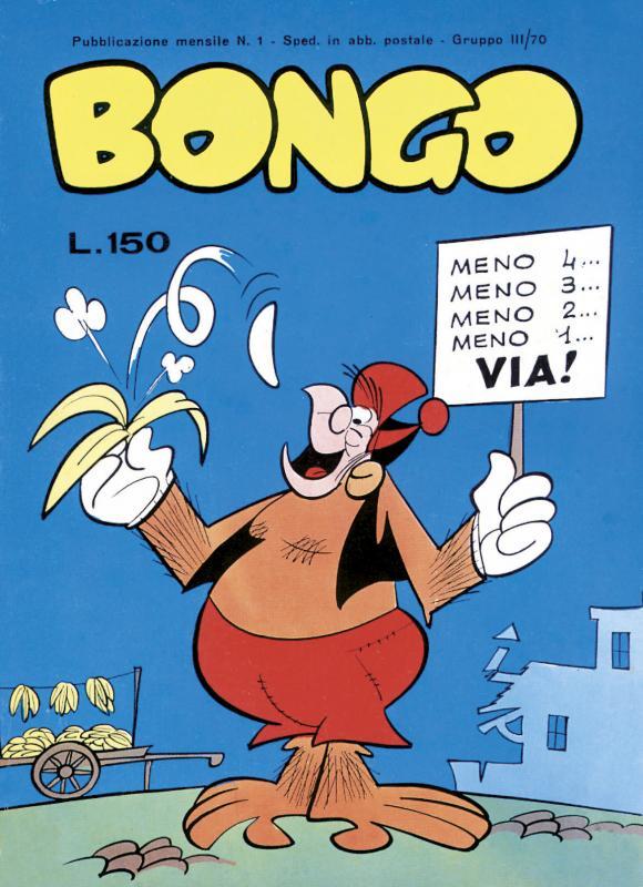 Fumetto Italiano Vintage: Bongo
