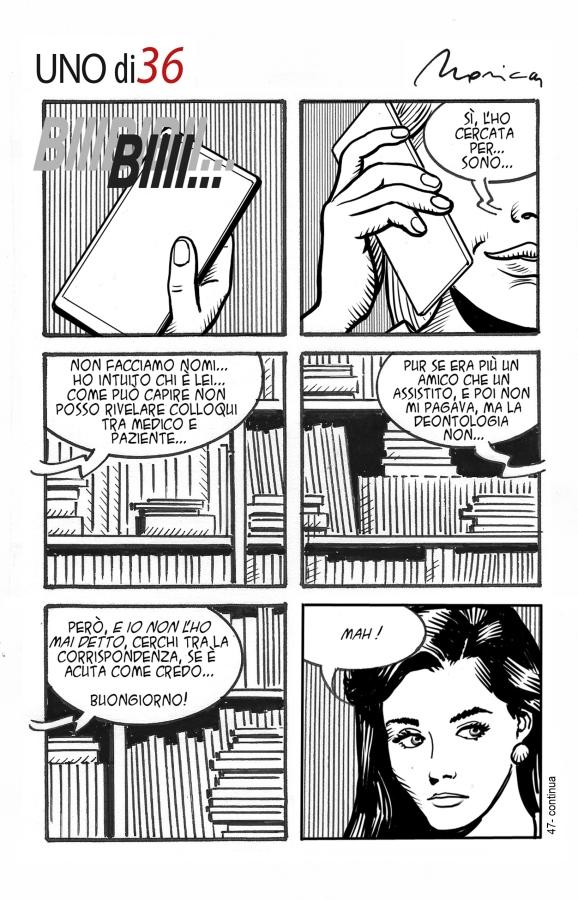 Graphic Novel uno di 36 #47
