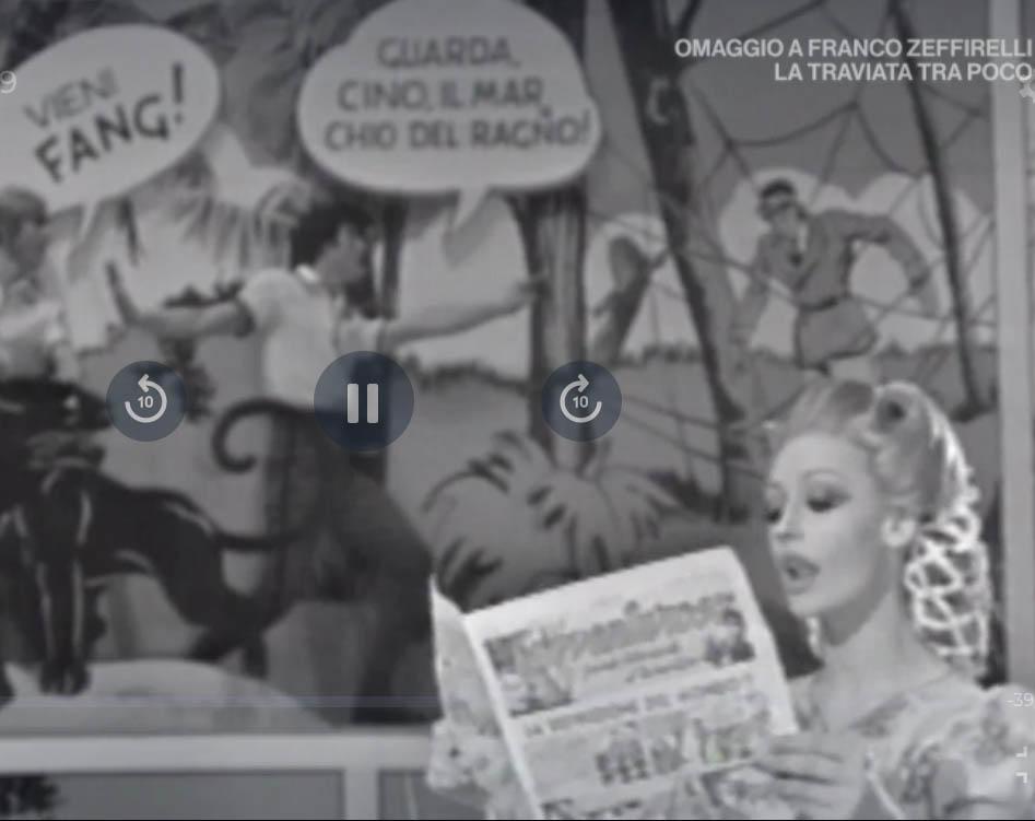 Raffaella Carrà legge il Vittorioso.