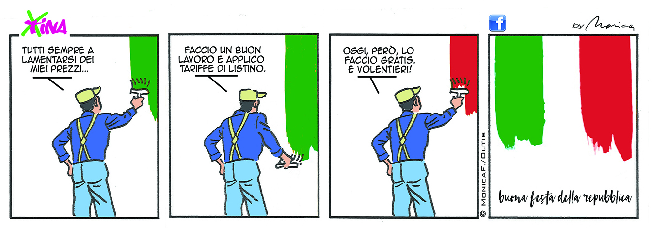 Xtina comic strip 2 Giugno