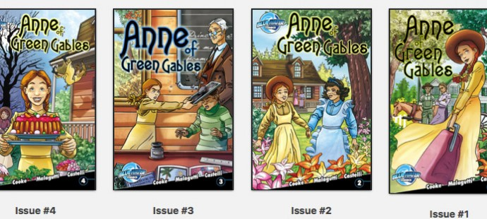 Anne of Green Gables, 4 Comic Books