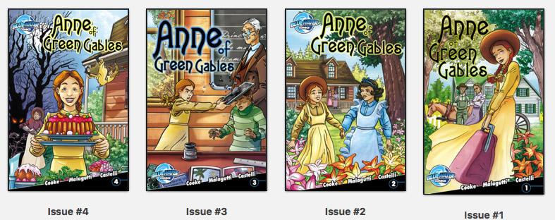 Anne of Green Gables, 4 Comic Books