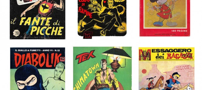 Comic books from Time Capsule
