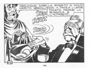 Il brindisi di Girella_nel fumetto