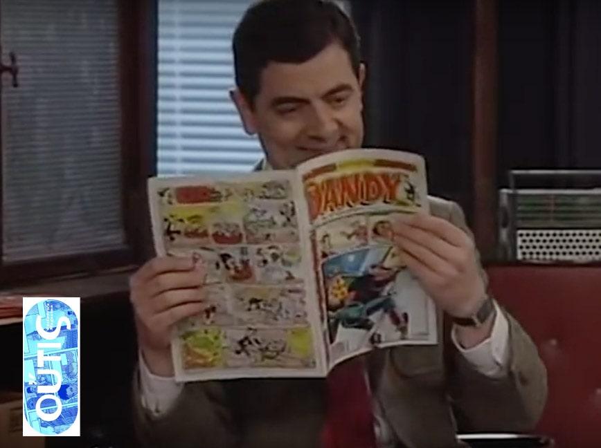 Mr. Bean reads Dandy