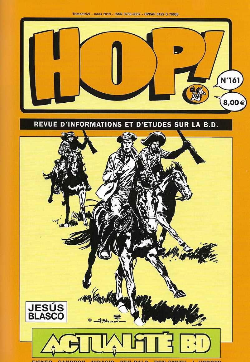 New volume of HOP! la revue d'informations et d'etudes sur la B.D.