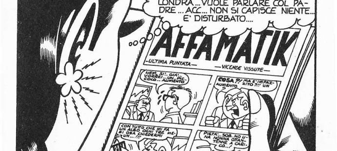 Raffaele Cormio inside jokes in Kriminal
