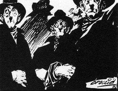 The Comics Characters that scared me