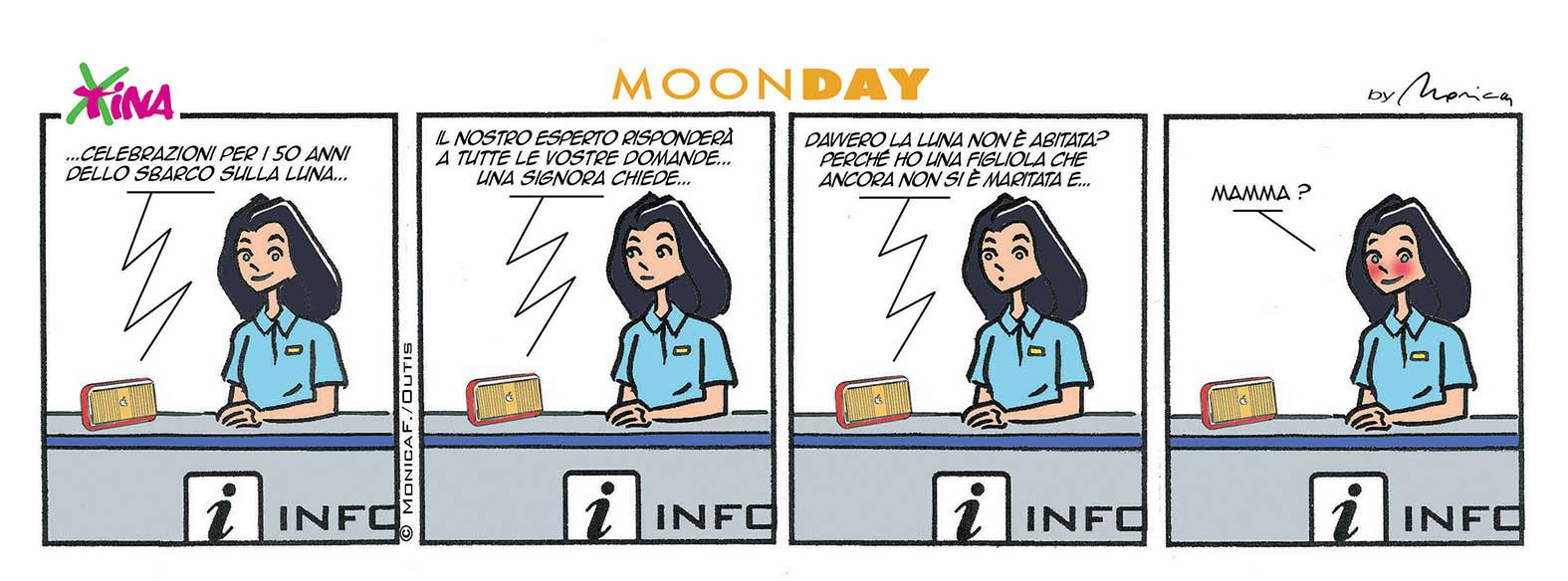 Xtina MoonDay comic strip 2
