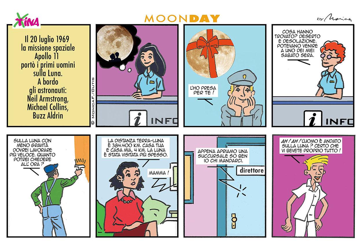 Xtina MoonDay comic strip 3