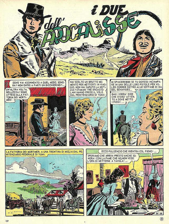Fumetto Italiano Vintage: I Due dell'Apocalisse