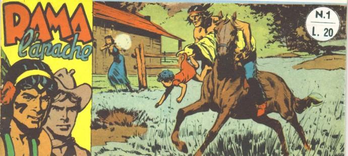 Fumetto Italiano Vintage: Rama l'apache