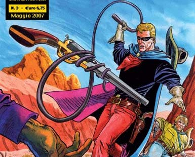 Italian comics artist Franco Bignotti