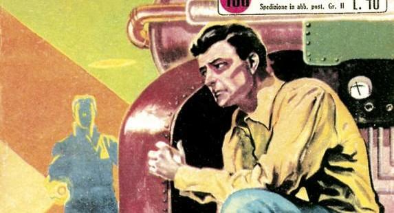 Fumetto italiano vintage: Capitan Walter