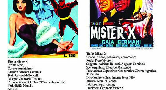 Italian Comics 2 Movie Mister X