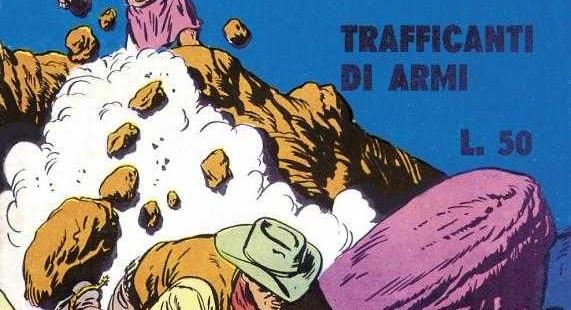 Italian Vintage Comics Mocassino Nero