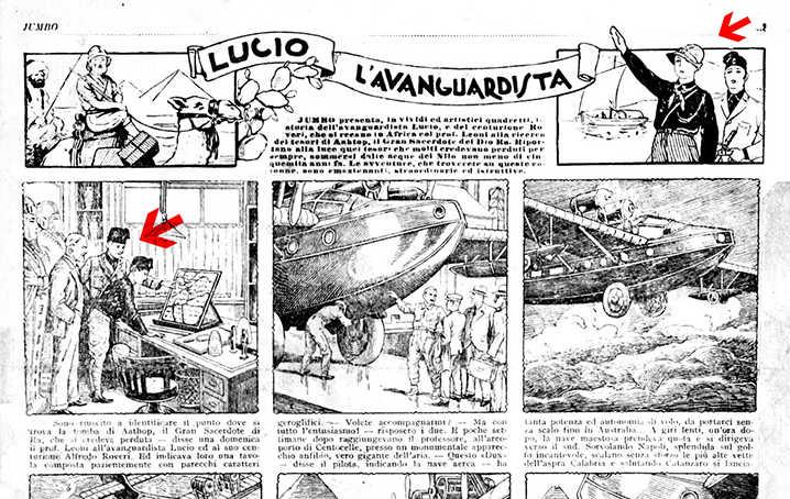 Rob The Rover becomes Lucio l'avanguardista