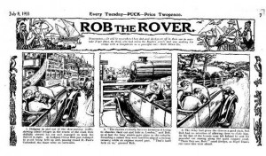 Rob The Rover becomes Lucio lavanguardista