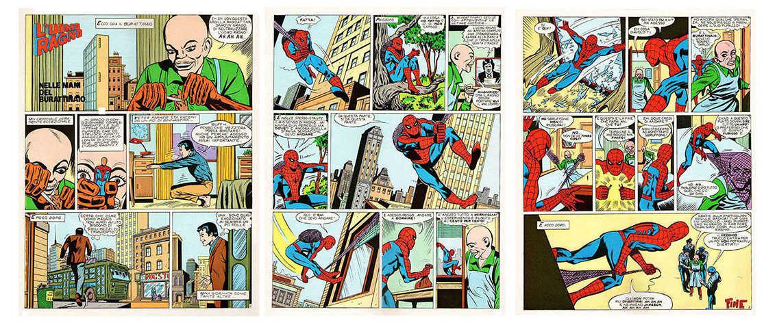 Spiderman or italian Uomo Ragno
