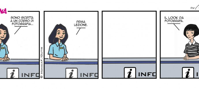Xtina comic strip photography courses