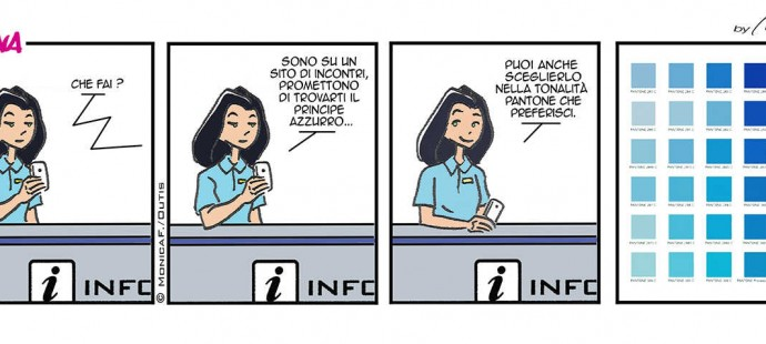 Xtina Comic Strip Principe Azzurro